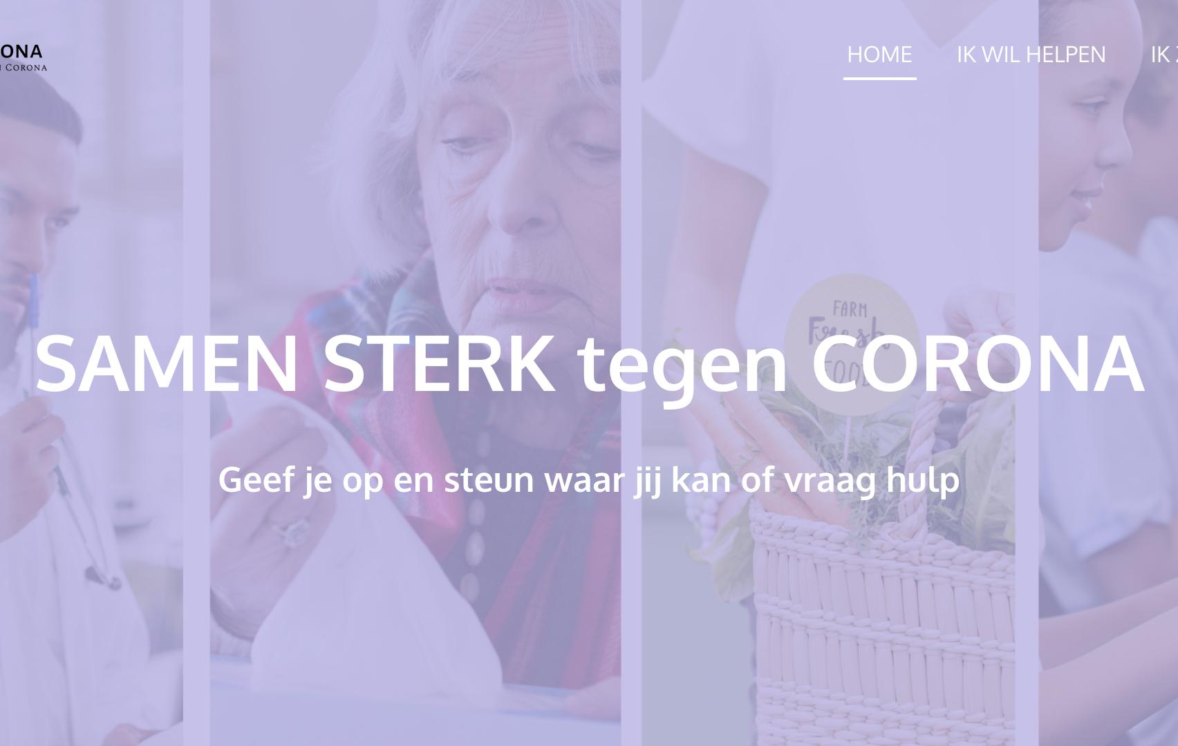 NLtegenCorona.nl – Een burger initiatief om ZELF te helpen in de zorg